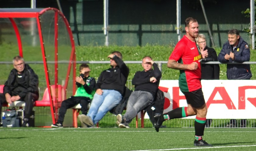 WAVV speelde in Wehl met 2-2 gelijk tegen Concordia. Wesley Mortier (op archieffota) was een van de doelpuntenmakers.
