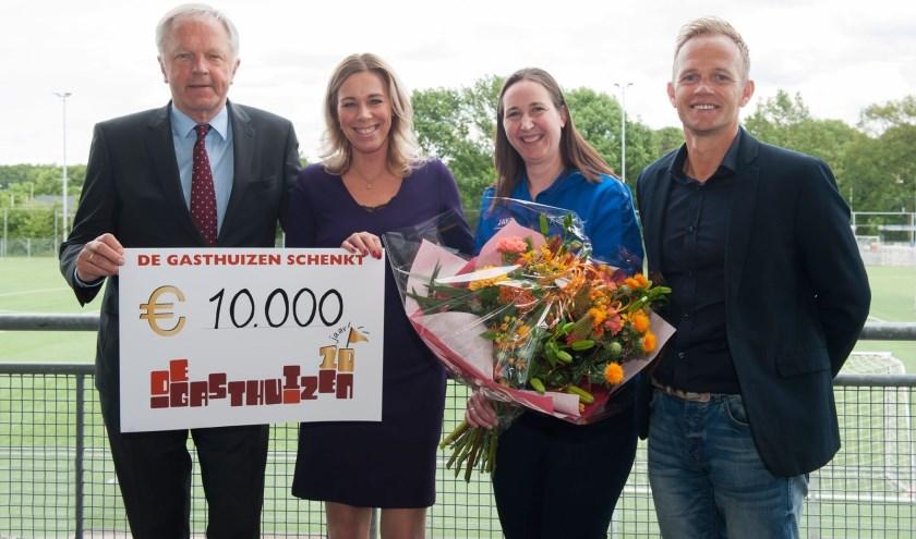 Een te besteden bedrag van 10.000 euro kende het Zwolse Fonds De Gasthuizen in mei dit jaar toe aan SportService Zwolle.