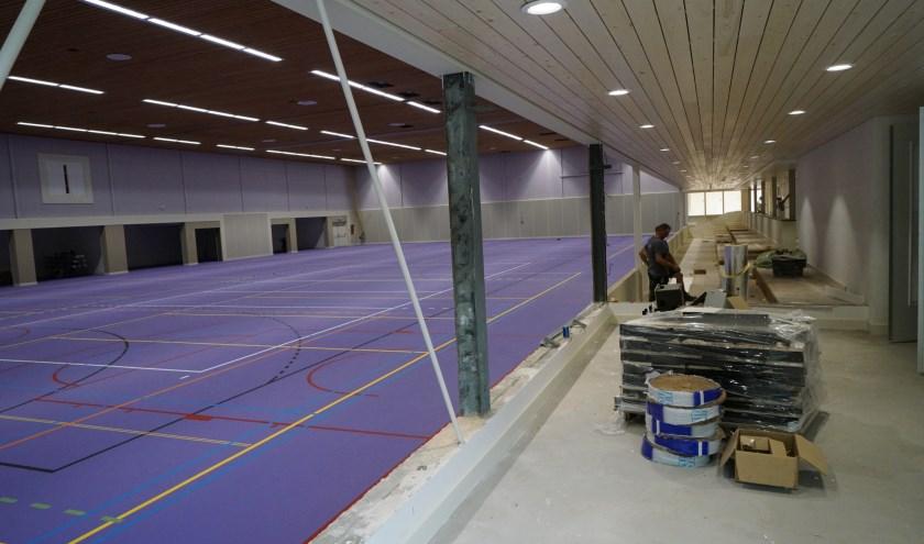 Het sportgedeelte van Dorper Esch is klaar; nu de rest nog.