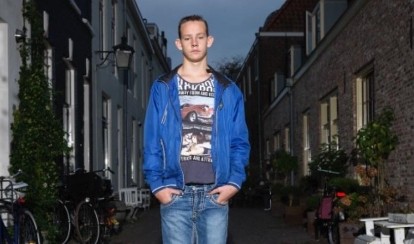 Mitchell, één van de Utrechtse kinderen die is gevolgd. Foto: Rob Hornstra.