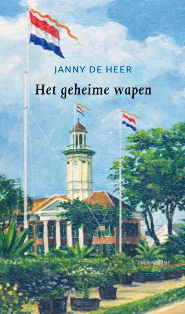 De omslag van de roman van Janny de Heer.