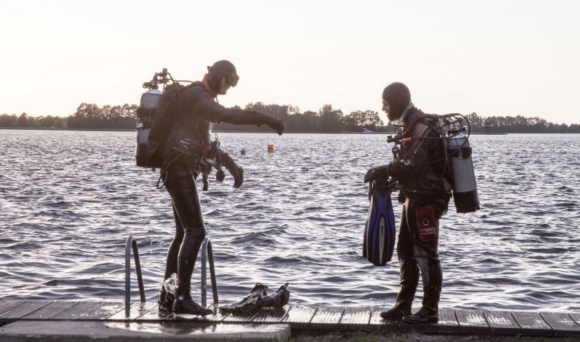 De duikers van Rescue Divers Breukelen zijn inmiddels weer te vinden in 't Kikkerfort in Breukelen. Foto: Rescue Divers Breukelen