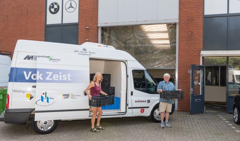 De voedselbank Zeist gaat verhuizen naar een nieuwe lokatie aan de kwikstaartlaan in Zeist