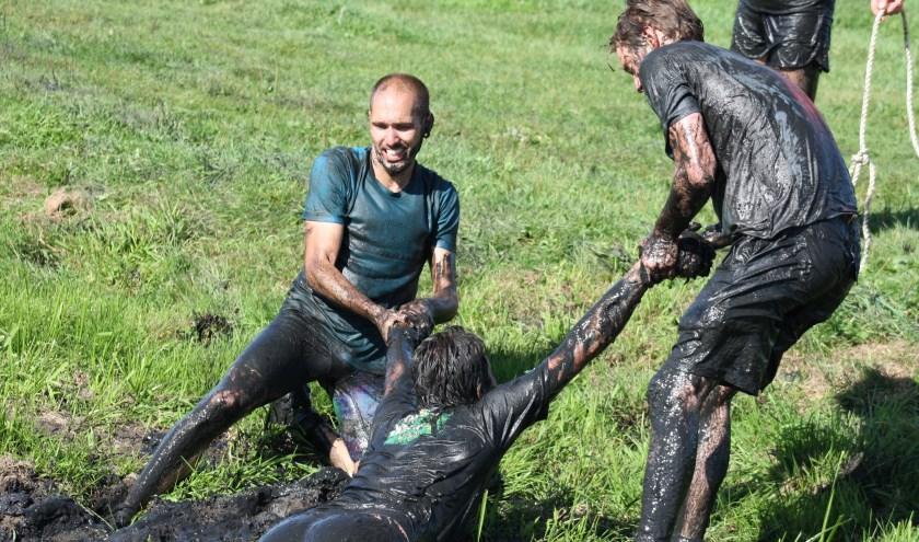 De Lowland Mud Games. (Foto: Mieneke Lever)
