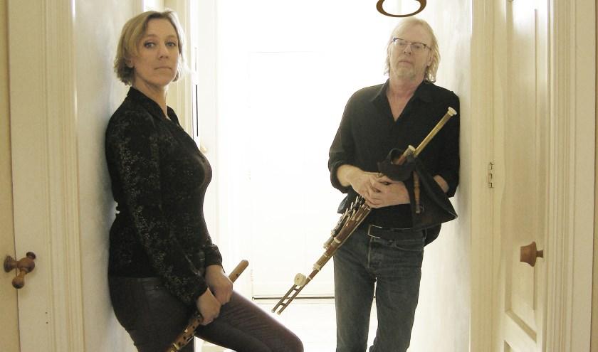 Fling bestaat uit Annemarie de Bie en Evertjan 't Hart. (eigen foto)