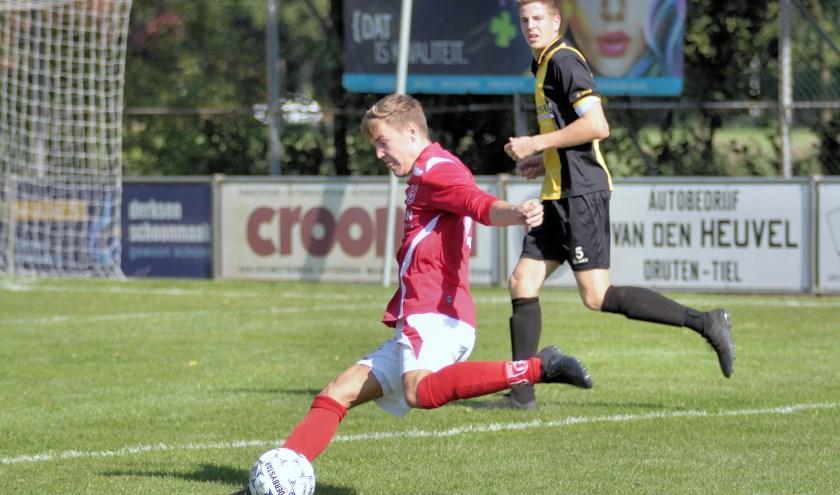 Dani Bloemberg had met een assist en een doelpunt een belangrijk aandeel in de 2-0 overwinning van DIO'30 op Vorden.