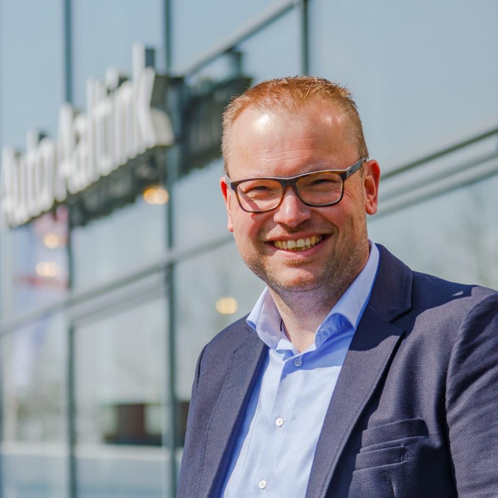 """Ewald Aaltink is als voorzitter de drijvende kracht achter Bruisend Nijverdal. """"Maar zonder alle andere vrijwilligers, ben ik nergens."""" Foto: Mike Rikken © DPG Media"""