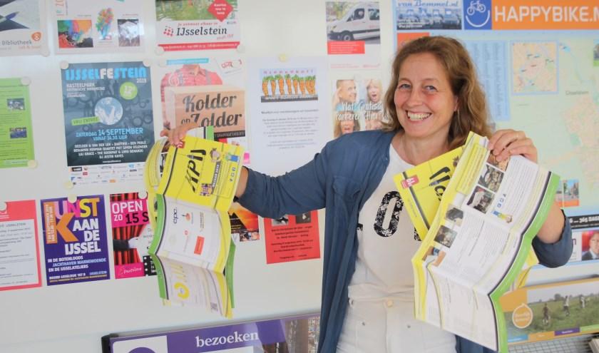 Ingrid de Bruijn heeft - met de andere KPIJ-bestuursleden en docenten - zin in het nieuwe cursusseizoen. (Foto: Lysette Verwegen)