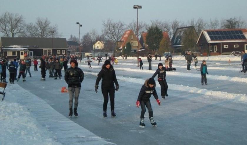Er kan van alles bekeken worden over schaatsen. (Foto: Privé)