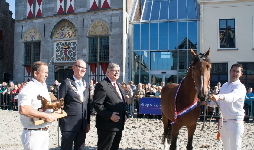 De Paardenmarkt. (Foto: archief Jacques Stam)