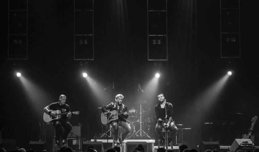 Ralph, Tommy en Robert voelen elkaar muzikaal goed aan. ((Foto: Eelco Noortman)
