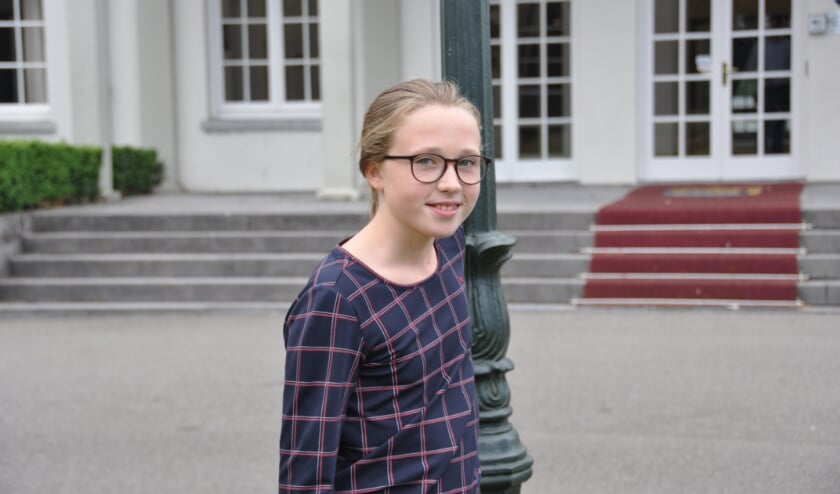 <p>Kinderburgemeester Carmen Braak is er klaar voor. FOTO: Julie Houben</p>