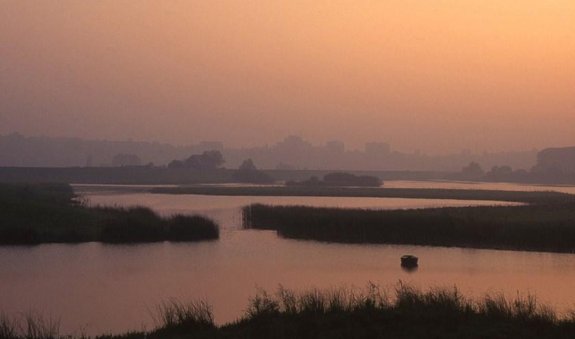 Een van de foto's uit de tentoonstelling Dag van de IJssel, te zien in Musea Zutphen