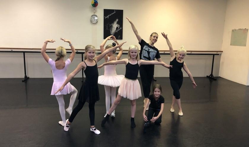 fantastische jonge ballerina's