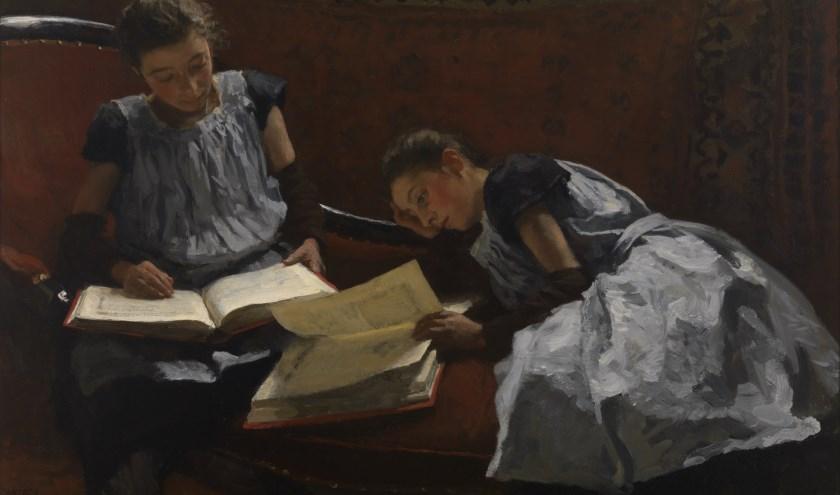 W.B. Tholen - De gezusters Arntzenius - 1895