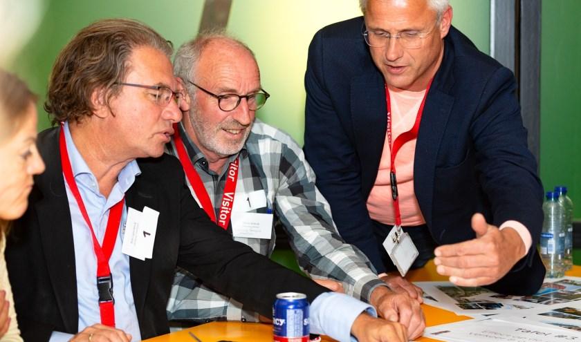 De Vlaardingers worden nauw betrokken bij de ontwikkeling van het nieuwe Unilevercomplex (FotoArend van der Salm).