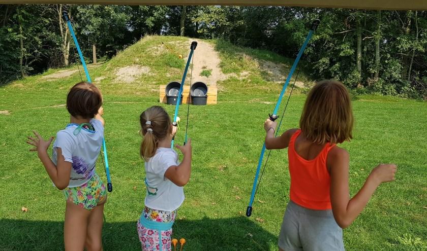 Lekker buitenspelen op woensdagmiddag 18 september in Piershil. (Foto: Privé)