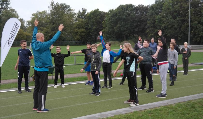 Aan de sportdag deden maar liefst 150 leerlingen mee van Brede School de Cambier, Entrea de Hertog en RSG Praktijkonderwijs.