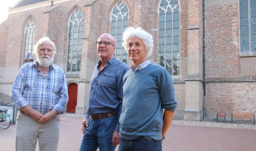 Enkele leden van de plaatselijke commissie. Vlnr: Boeije Janssen, Sybren Tjepkema en Martin Lamers. (Foto: Arjen Dieperink)