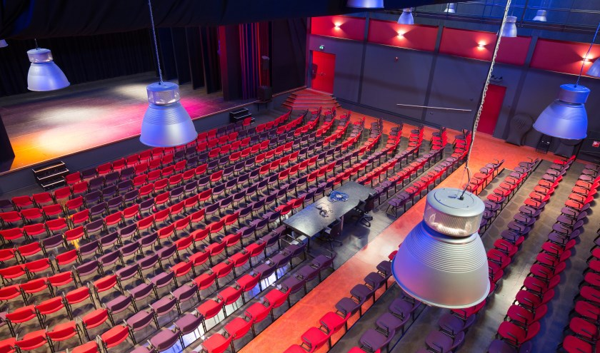 Theaterzaal Theater De Willem. (Foto: Privé)