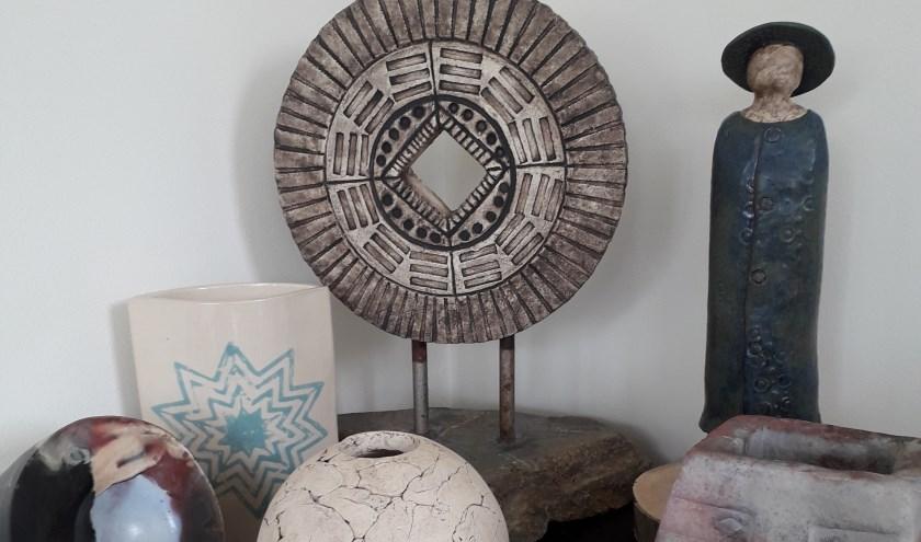 Creatief Met Klei.Creatief Met Klei Tijdens De Workshop Keramiek Gazet