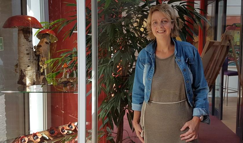 Denise Prinsen is al meer dan 20 jaar met enige regelmaat te vinden op kunstmarkten in de wijde regio.