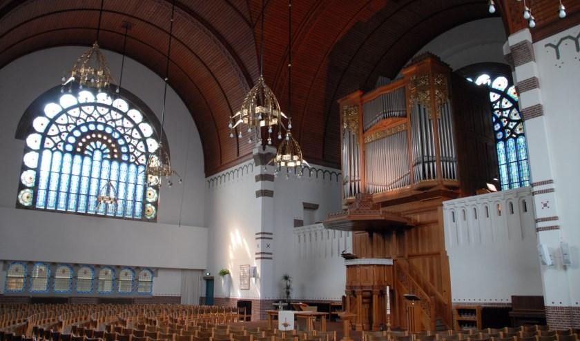 ook het interieur van de Adventskerk is te bewonderen dit weekend.