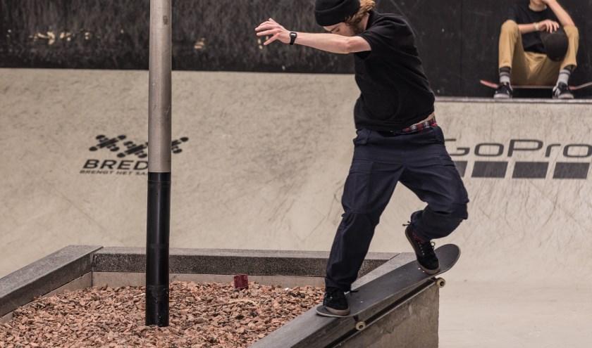 Het NK Skateboarden in Skateland is onderdeel van het Rotterdam Street Culture Weekend. Skater: Robbin de Wit / Foto: Tjeerd Derkink