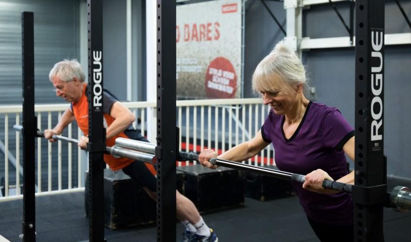 ZilverFitness is de ideale methode om fitter te worden en vitaal te blijven. (Foto: Otto Walter)