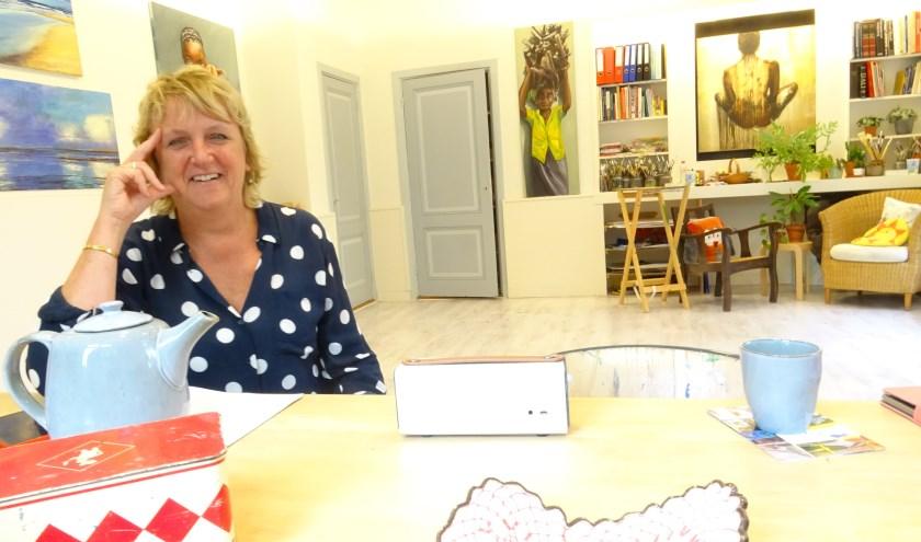 Het nieuwe atelier van Gerda Lancee is te vinden naast de Pauluskerk. Tekst en foto: Joke Stapper