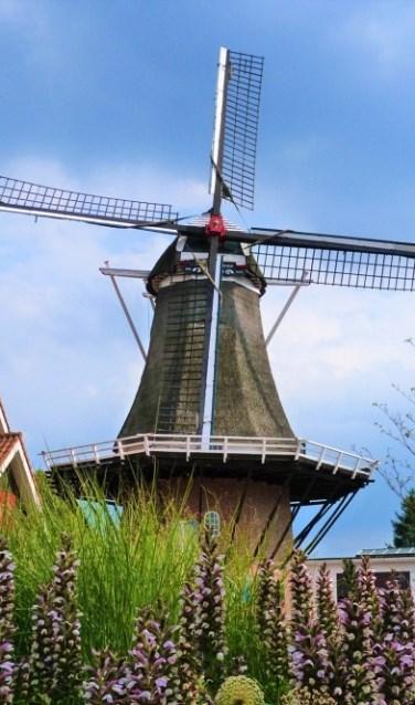 Stroom- en korenmolen De Hoop is een karakteristiek beeldmerk voor Hellendoorn.