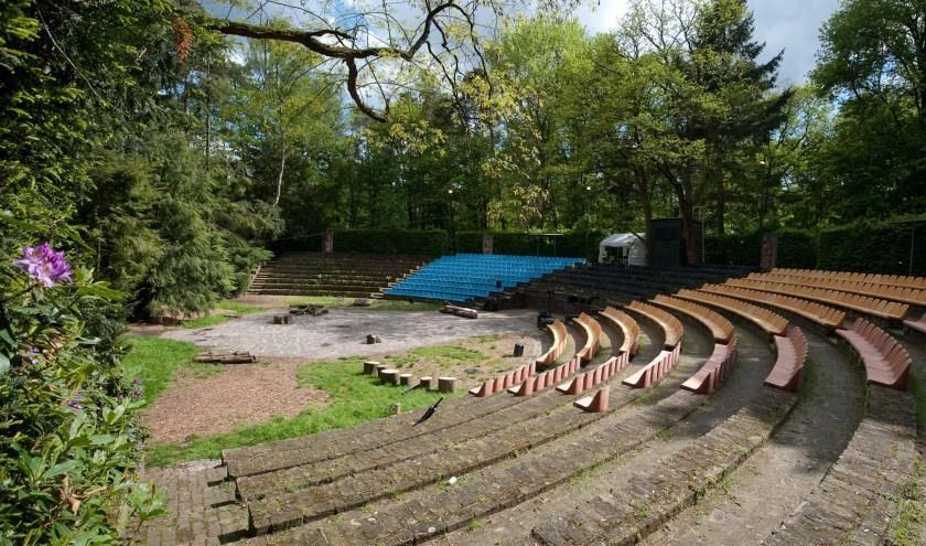 Het Natuurtheater aan de Gemullehoekenweg in Oisterwijk. foto: Raymond Solcer