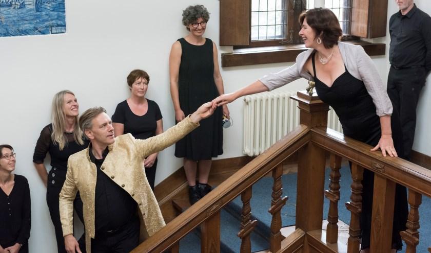 Opera Dido in Delft een voorproefje in Huis Lambert van Meerten