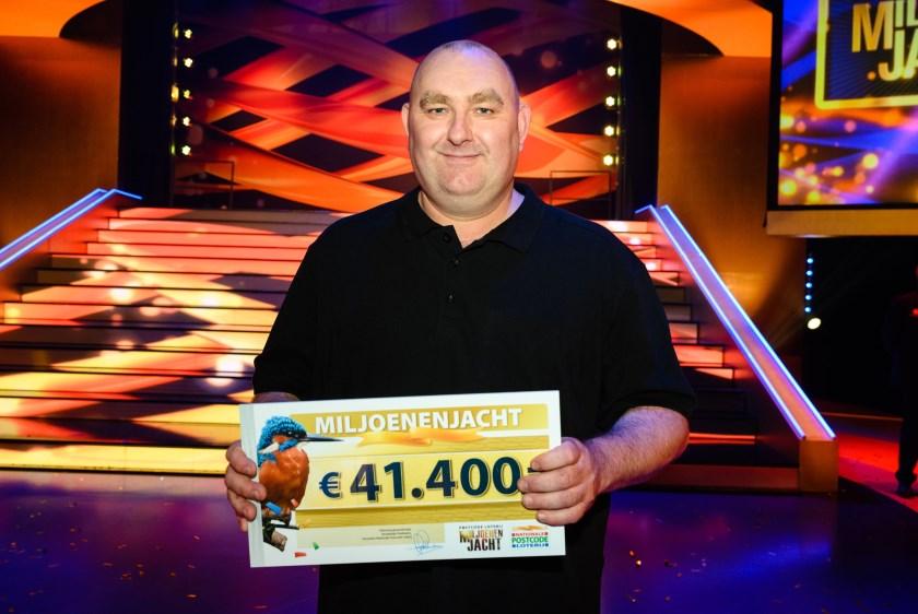 Arnhemse Rob wint 41.400 bij Postcode Loterij Miljoenenjacht. (foto: Roy Beusker Fotografie)