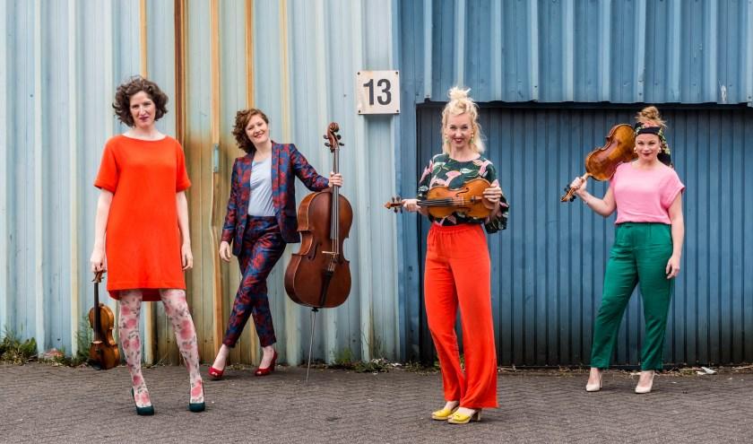 Het Ragazze Quartet heeft opnieuw een bijzonder festivalprogramma samengesteld.