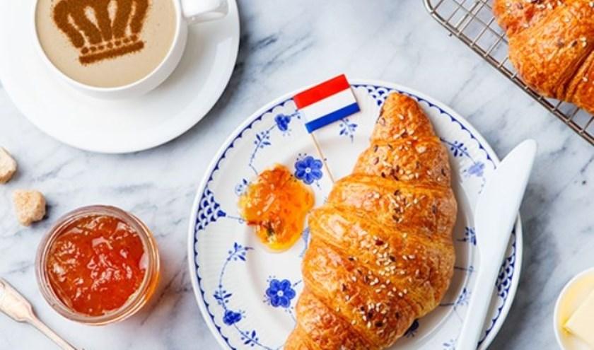 Ontbijten met elkaar. (Foto: Jannette Boogaard)