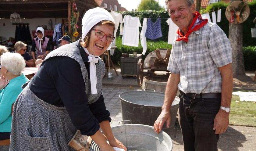 Tijden van vroeger herleven tijdens de Boerenmert in Hapert.