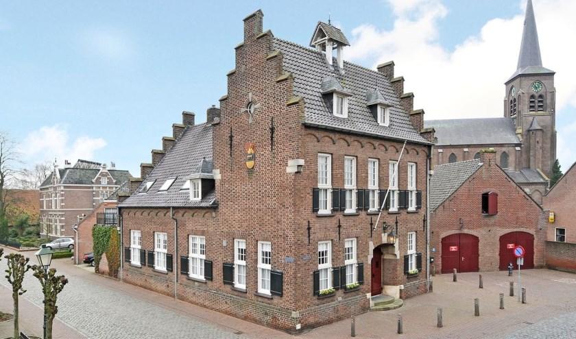 Onder andere het Oude Raadhuis in Megen opent zijn deuren op Open Monumentendag op zaterdag 14 en zondag 15 september. Foto: Huub Wattenberg