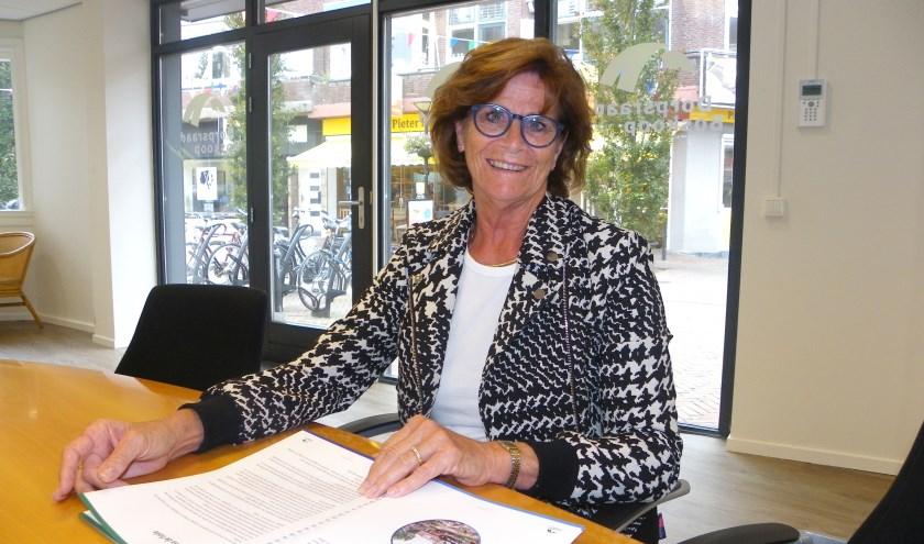 Ria de Groot is voorzitter van de Dorpsraad Boskoop en als zodanig vaste columniste bij deze krant.