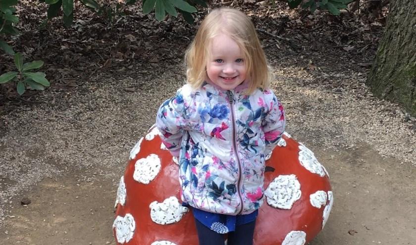 Indy van Boxtel uit Kaatsheuvel is de Jarige van de Week. Zondag viert zij haar derde verjaardag.