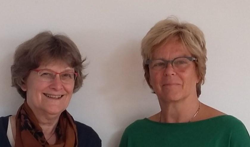 """Quirine Wentink en Anke van Keulen: """"Het is zo hard nodig om mensen met elkaar te verbinden en naar harmonie te streven."""" (foto: PR)"""