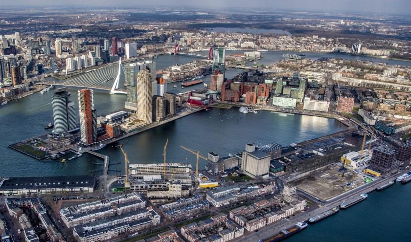 Wat is dat voor rivier die daar door Rotterdam stroomt?