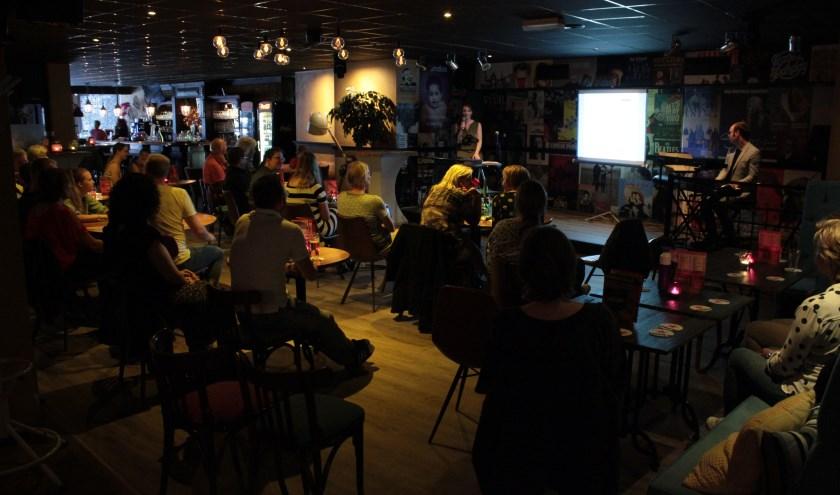 Bij de vorige editie van het ZSN Zangcafé waren ruim dertig deelnemers. Judith hoopt dat er 15 september nog meer mensen meezingen.