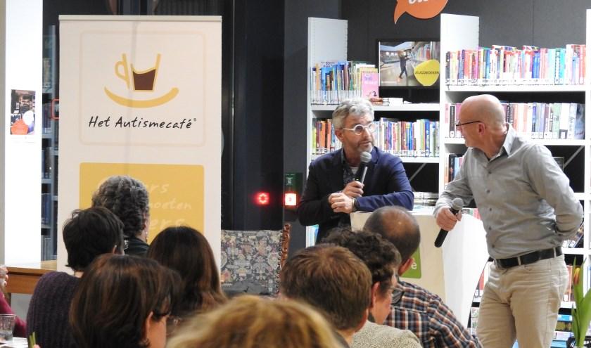 Een eerdere editie van het Autismecafé bij BaLaDe in Waalwijk.