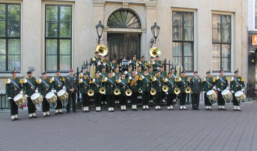 Traditioneel Jachthoornkorps Garde Jagers.