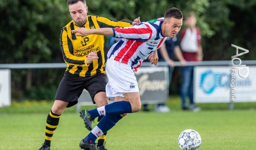 Baardwijk won op bezoek bij RWB met 1-2.