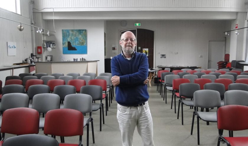 Peter Buikstra in de Kapel op 't Rijsselt.