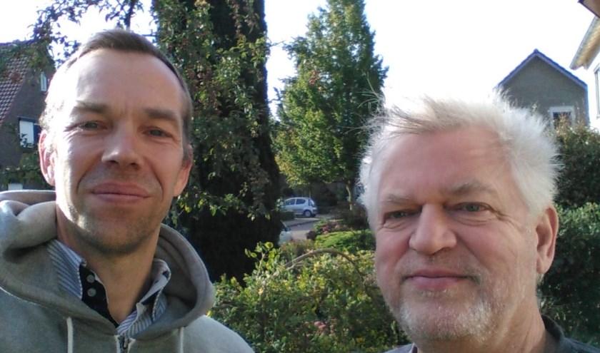 De initiatiefnemers voor een InterCultureelReligieus gesprek: Jelbert Versteeg (links) en Jan Wouter van der Straaten.