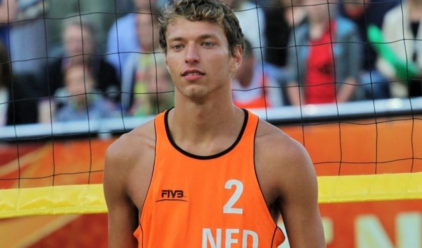 Schiedammer Wessel Keemink speelt graag voor Oranje. Vorig seizoen was hij in dienst bij het Italiaanse Modena, na het EK vertrekt hij naar Budva Montenegro. (Foto: MIscha Keemink/WaterwegSport.nl)
