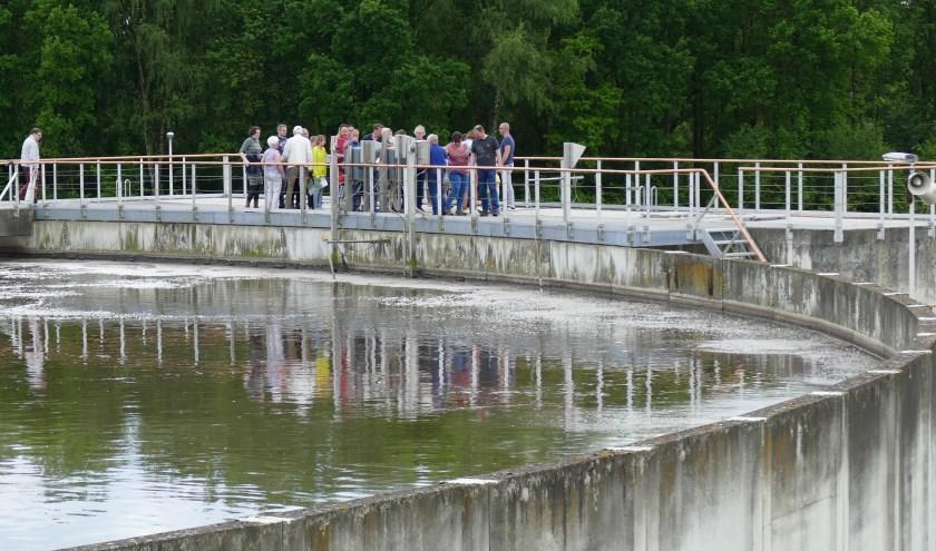 Volg de weg van 'ons' water tijdens een interessante excursie naar de rioolwaterzuivering. FOTO: Waterschap De Dommel.